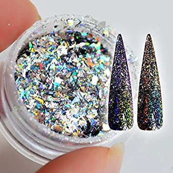 Amazon.com: Glitter Nail - Flakes For Nails Sequins ...
