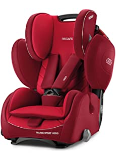 Recaro 6203.21505.66 Asiento Infantil para coche Young Sport Hero, Indy Rojo