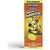 GirafKids Appetite Vitamins for Kids – 8Fl Oz Appetite Boost Syrup – L-Lysine, Inositol, Calcium and Vitamins – Orange…