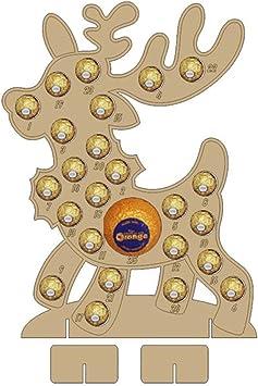 De Noël l/'Avent Calendrier Père Noël Arbre de Noël pour 24 ferrero rocher chocolat