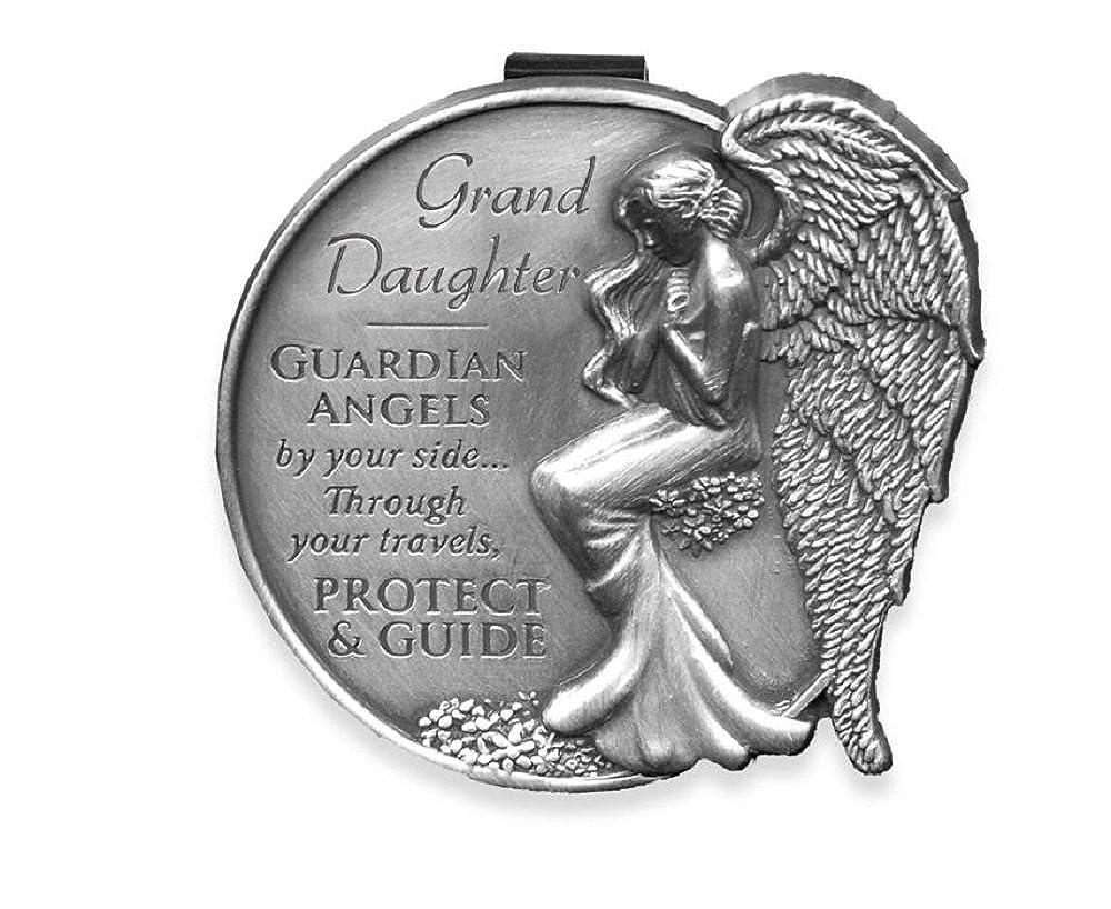 Granddaughter Guardian Angel Visor Clip.