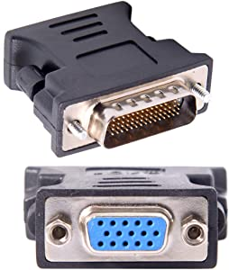 CY LFH DMS-59pin Male to 15Pin VGA RGB Female Extension Adapter for PC Graphics Card