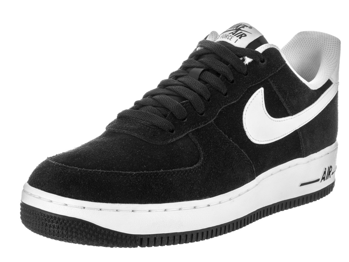 huge selection of e22a1 c738c Galleon - Nike Men s Air Force 1  07 Black White Basketball Shoe 8.5 Men US