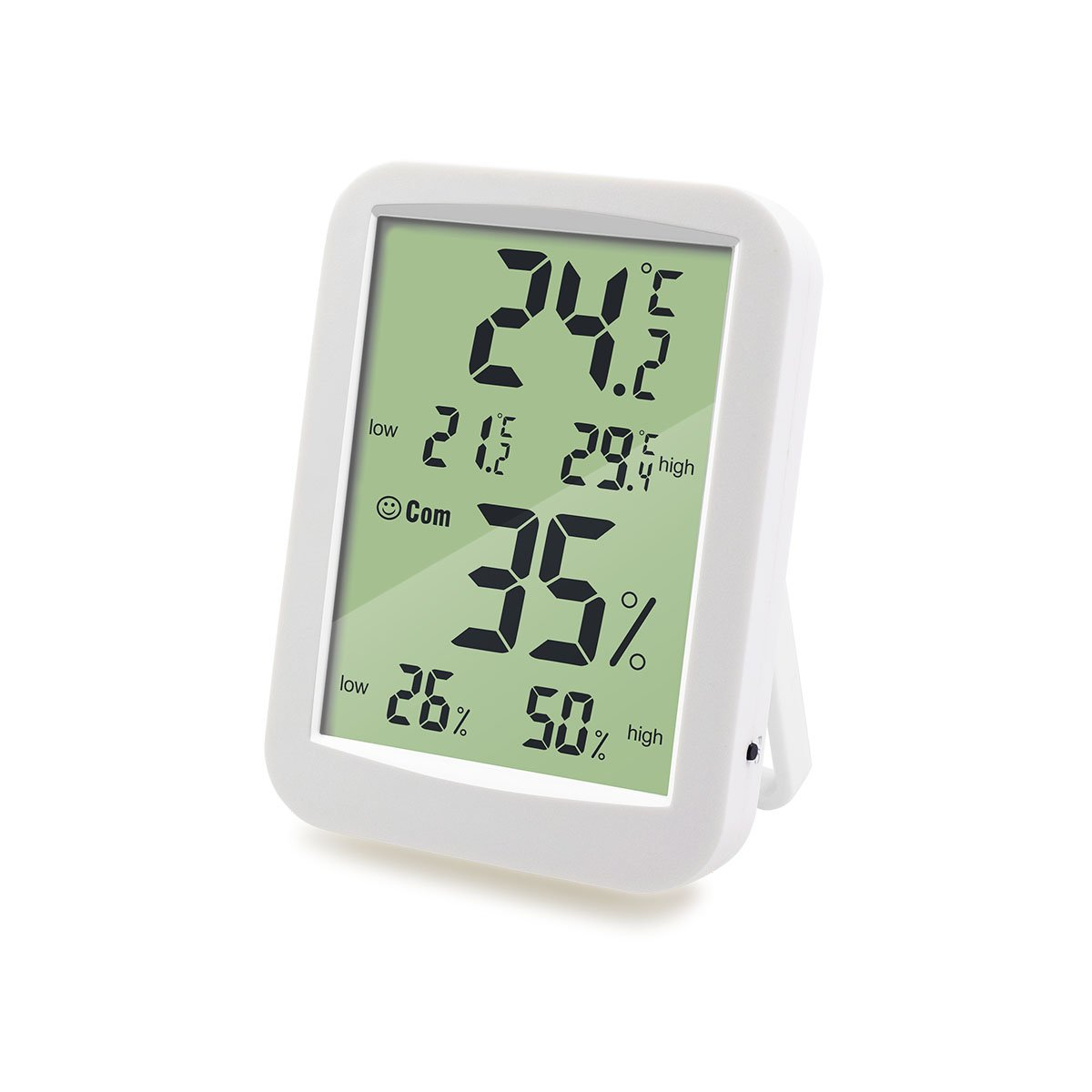 WECOME Temperature Humidity with Record Function Digital Hygrometer Thermometer Humidity Monitor for Home, Office and Baby Room