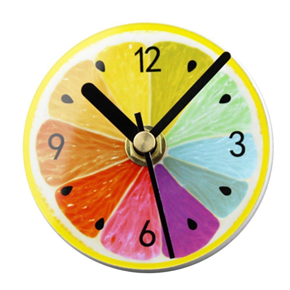 besplore Galaxy磁気時計、壁時計、デスクトップクロック、ブラック ZM-BXZ002-NM-COLORFUL B078T4X37W G3-colorful G3-colorful