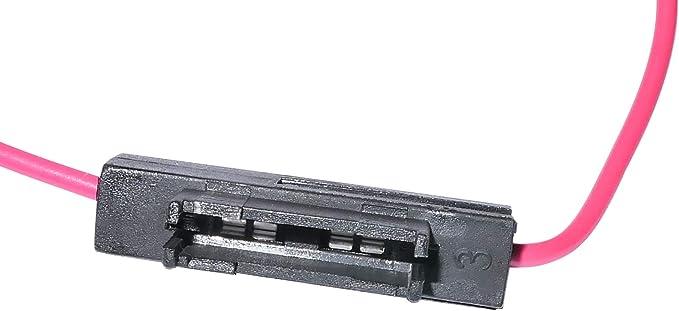 Aerzetix C10029 5 X Sicherungshalter Flacher Sicherungssockel 19mm Midi 5a 0 75mm Rot Auto