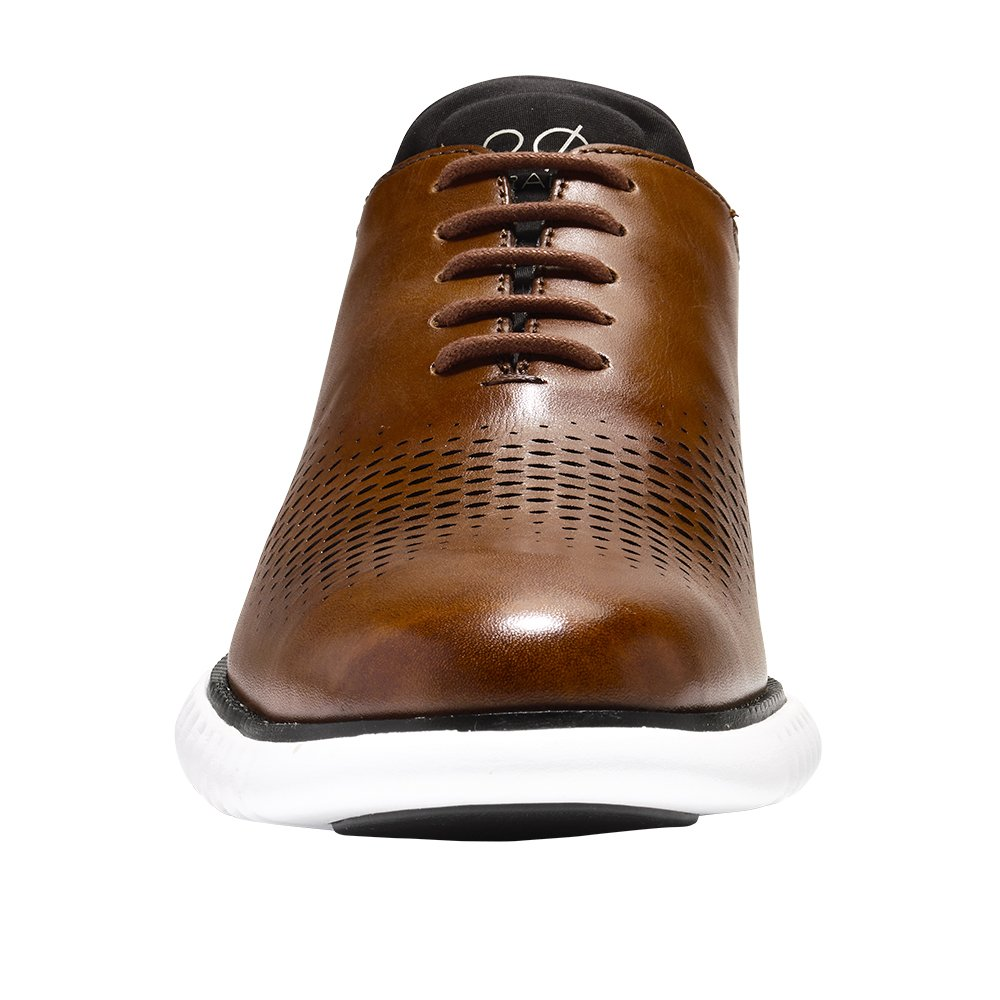 Cole Haan Men's 2.Zerogrand 2.Zerogrand Men's Laser Wing Oxford Oxfords 10 M US|British Tan-black B078J8TJ8B e2d940
