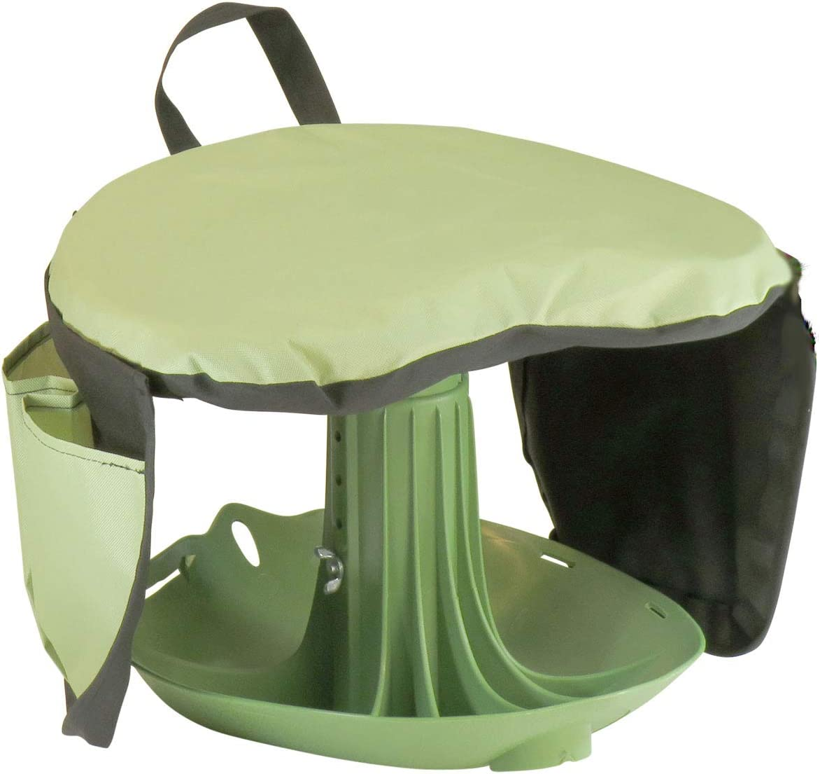 Vertex Premium Garden Rocker with Cushion, Cover and Pockets | Gardeners Work Seat Stool for Weeding Planting Tool | Made in USA | Model GB1227