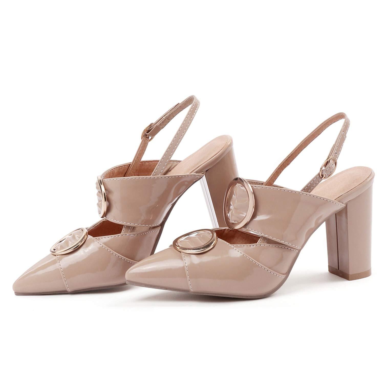 Basic Casual Buckle Gladiator Sandals Women Women Shoes Sandalia Feminina Size 34-43,Red,5.5