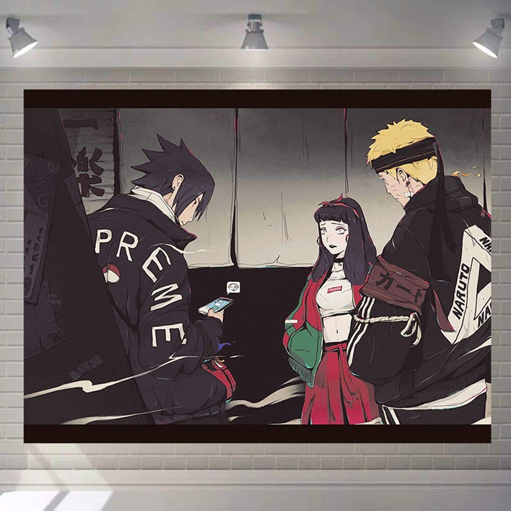 HappyL Naruto Anime Tapestry Dormitory Decorative Wall Tapestry Tapestry (Color : C, Size : 200CM×150CM) by HappyL