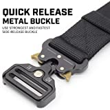 Tactical Belt for Men Military Style Heavy Duty