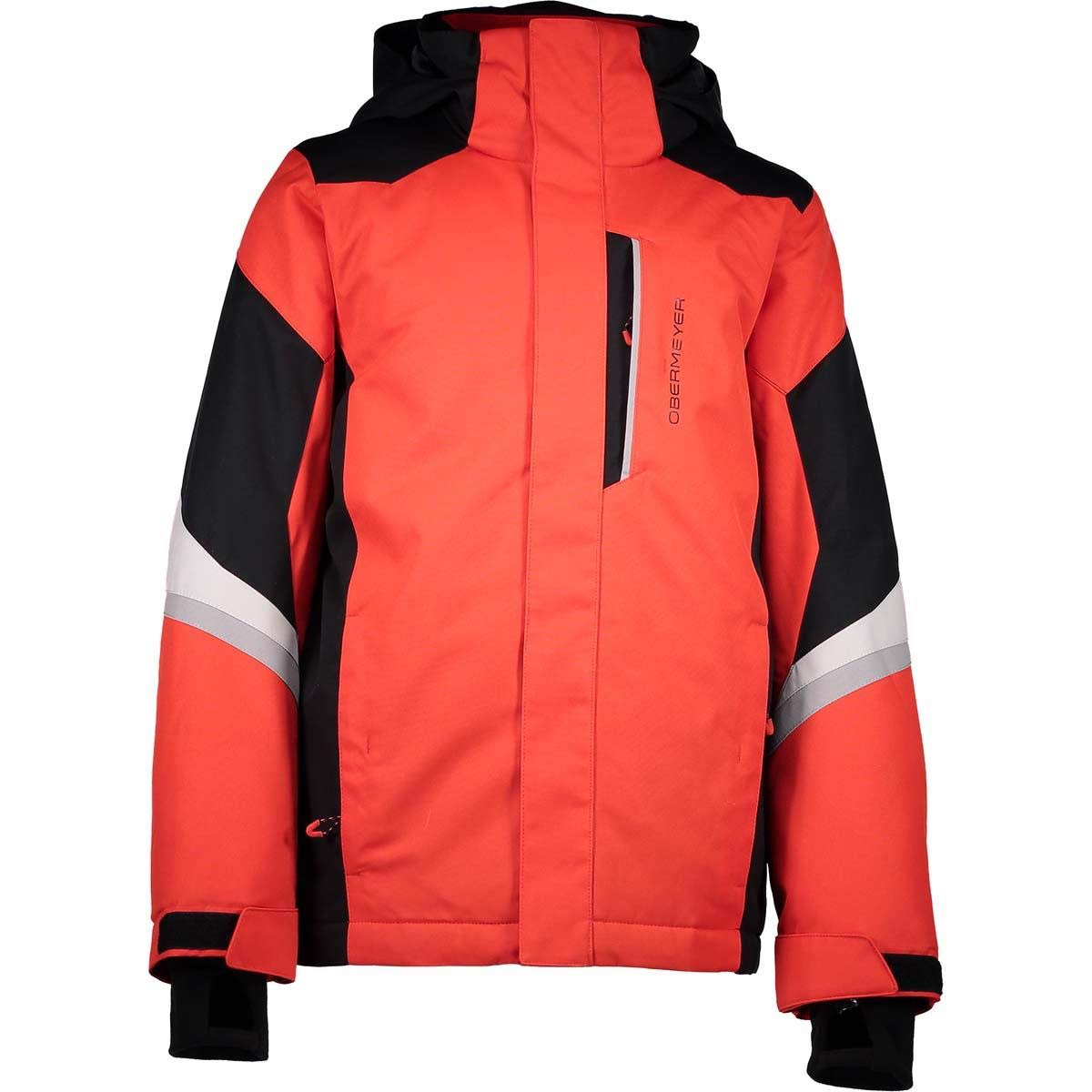 Obermeyer Kids Boy's Fleet Jacket (Little Kids/Big Kids) Red Medium
