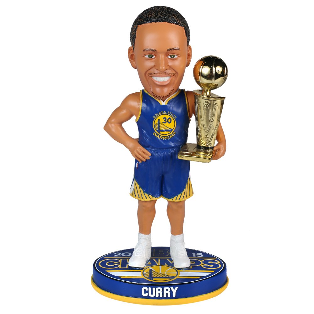 Stephen Curry Golden State Warriors 2015 NBA Championship Limited Bobble Head