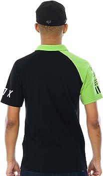 Polo Fox Switched On - Kawasaki Negro-Verde (L, Negro): Amazon.es ...