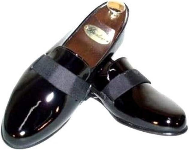 Federico Leone Square Toe Tuxedo Shoe Many Sizes