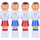 Hotusi 4Pcs Rod Foosball Soccer Table Football Men Player Replacement Parts