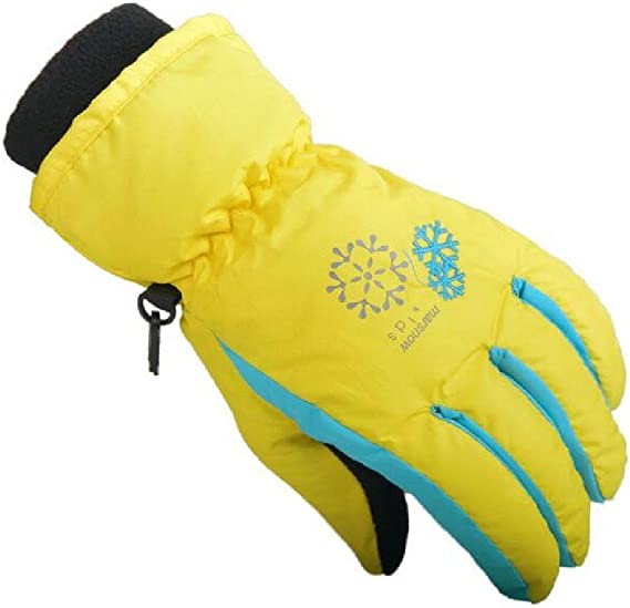 Sankt Girls Boys Winter Bow Halter Neck Mittens Keeping Warm Gloves