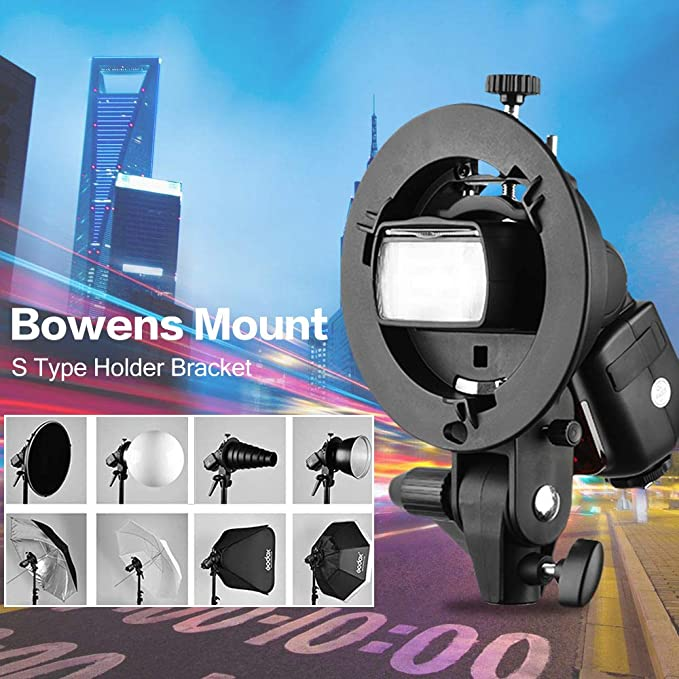 Godox S Type Bracket With Bowens Mount S Type Holder Camera Photo