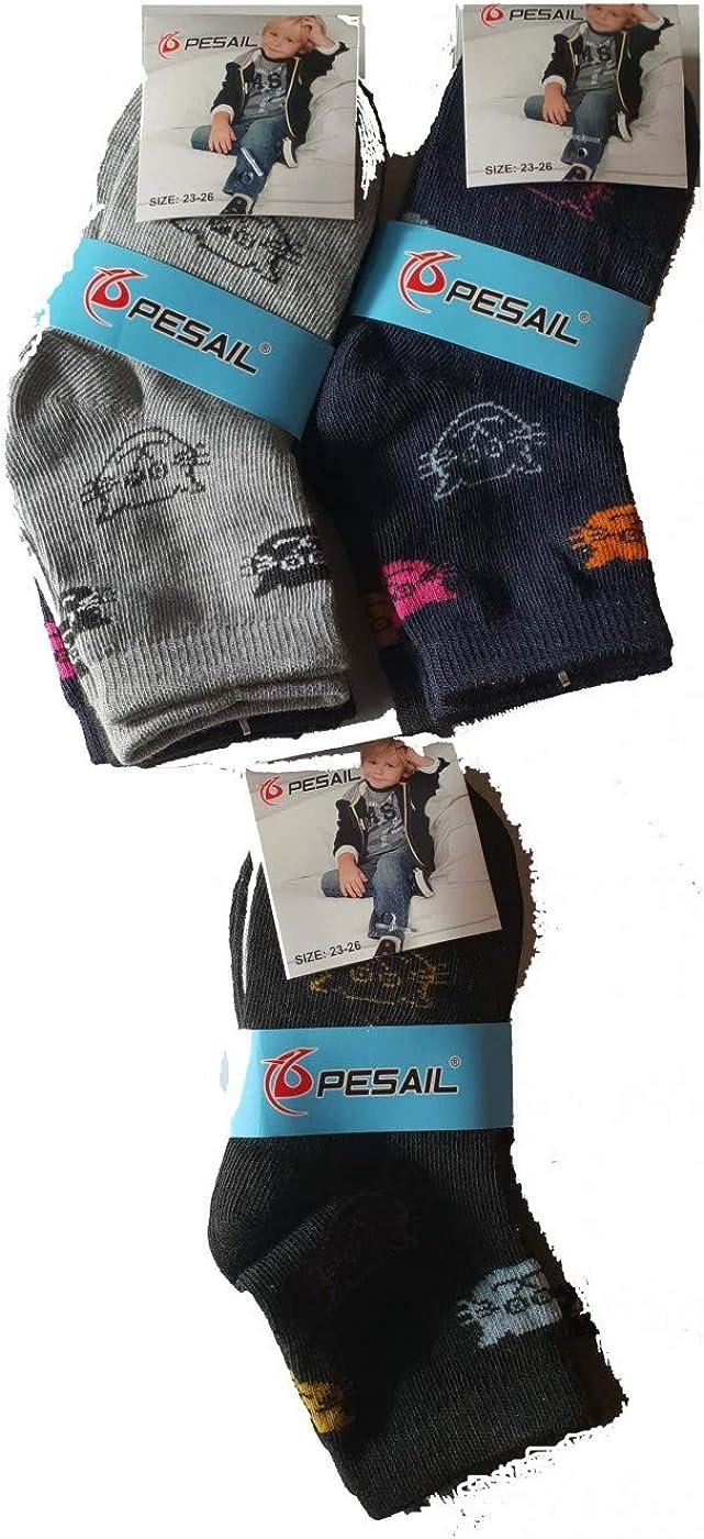 PESAIL Lot 3 paires chaussettes enfant,chaussettes filles