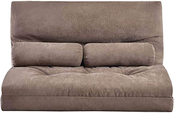 Best living room sofa: Adjustable Floor Sofa and Couch Cushion Padded Gaming Sofa 5-Position Strong Back Support