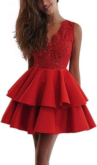 SANDIP MIKEY Women's Clothing Sweet Dress Lace Splice ...