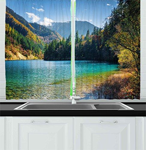 bamboo kitchen curtains - 9