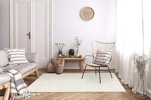 FRENCH VINYL Tapis de décoration, Vinyle, Beige, 98x148,5 ...