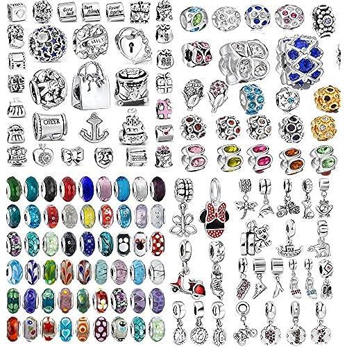Akki Murano  perlas de cristal en distintos colores a866697df4b