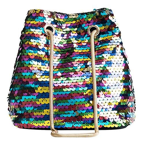 pour Porté Sequin La Femmes Coloré Shining Sac Messenger Chaîne Mini Crossbody à Cabina bandoulière Fille épaule Sac Crossbody ffZFqxnp