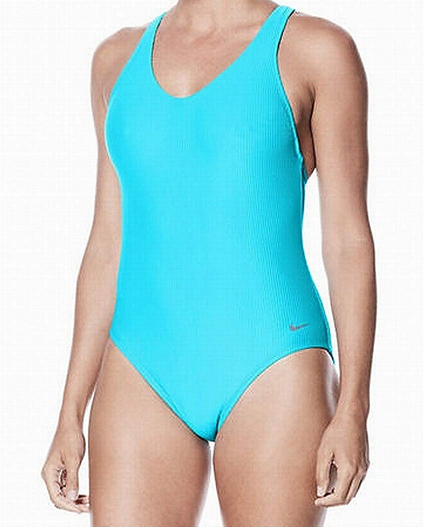 bf1f3f9e0216b Nike NESS8320 Women's Rib Racerback One-Piece at Amazon Women's Clothing  store: