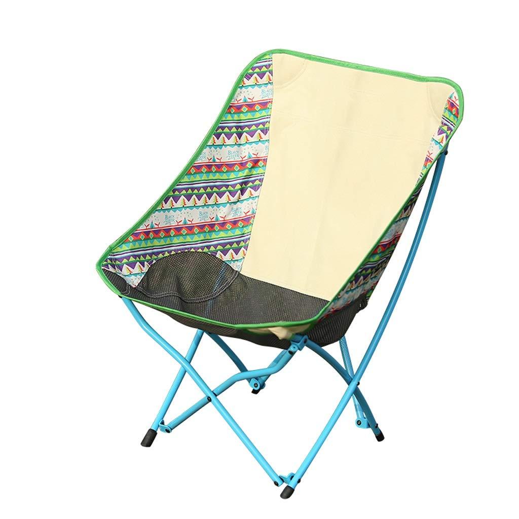 屋外折りたたみ椅子釣り椅子、小型でヘビー級、携帯用ビーチチェア、遠出に適して JSFQ B07T1PNPGG