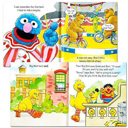 Sesame Street Toys For Toddlers : Sesame street elmo manners books for kids toddlers set