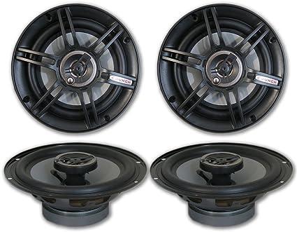 1 Pair Front Speaker Adapters For GM JVC CS-J620 6.5 Speakers