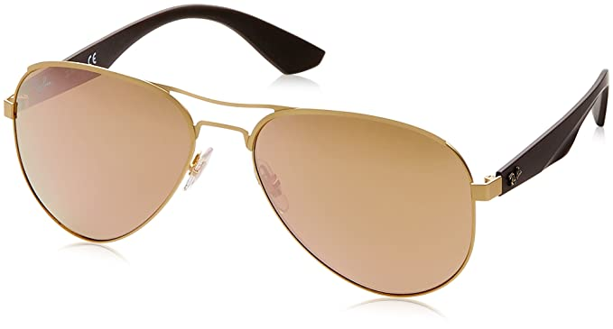 19f6495bee Amazon.com  Ray-Ban Metal Man Sunglass Aviator