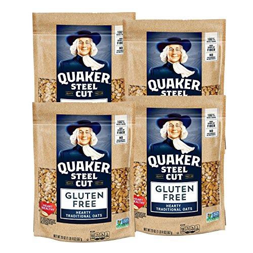 Quaker Gluten Free, Steel Cut, 4 Count