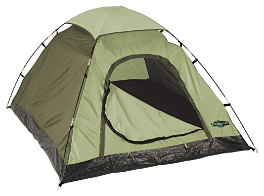 Stansport Hunter Series Hunter Buddy 2 Pole Dome Tent (Forest Green/Tan 5  sc 1 st  Amazon.com & Amazon.com : Stansport Hunter Series Hunter Buddy 2 Pole Dome Tent ...