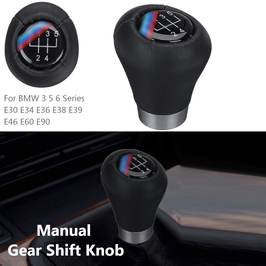 yanana 5 Speed ??Gear Manuale Spostamento Sostituzione pomello del Cambio per BMW 3 5 Serie 6 E30 E34 E36 E38 E39 E46 E60 E90