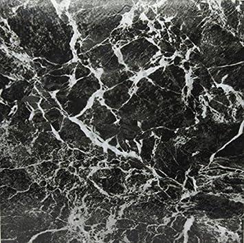 44 x Vinyl Boden Fliesen Selbstklebend K/üche Steck Uni Marmor Effekt