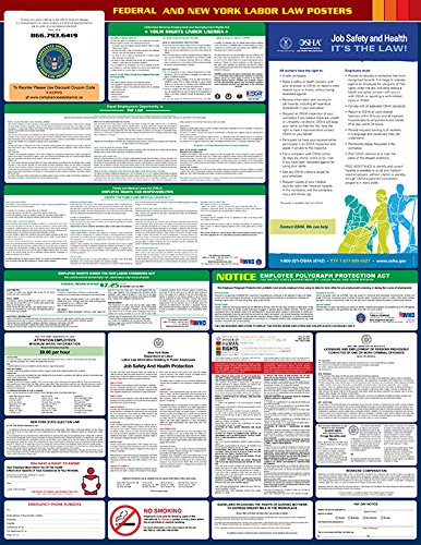 2017 New York State and Federal All-in-one Labor Law Poster - English