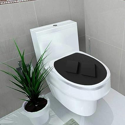 Amazon com: Vanfan Toilet Seat Sticker Mockup Template