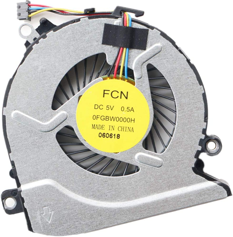 Compatible Laptop CPU Cooling Fan Cooler for HP Pavilion 17-G100 17-G101DX 17-G179NB 17-G053US 17-g119dx 17-g121wm 17-G037CY 15-AB 15-AB000 15-AB100 15-AB273CA 15T-AB200 15-ABXXX Series 812109-001