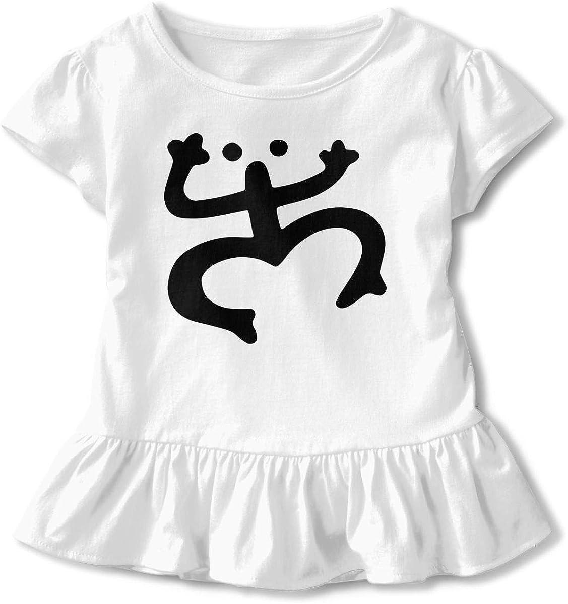 Puerto Rico Coqui Little Girls Short Sleeve Cotton Tee Tops