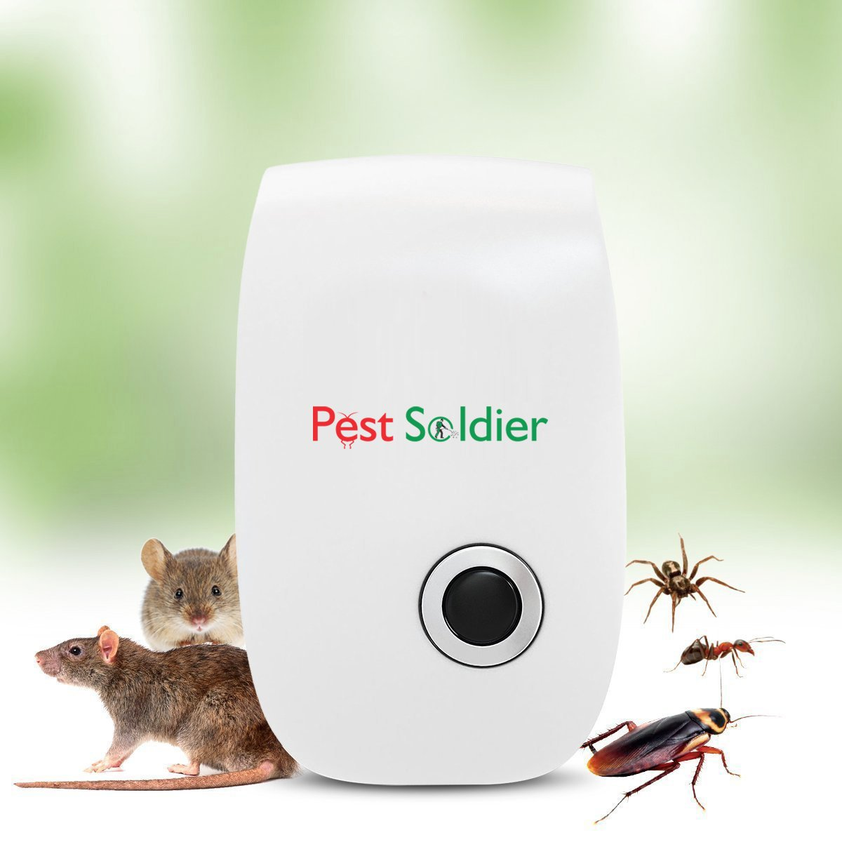 Pest Soldier Pest Control Ultrasonic Repellent
