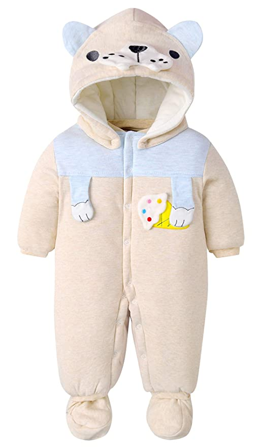 Happy Cherry - Bebés Saco de Dormir con Capucha Zapatos Desmontable para Bebé Niñas Pijama Bebé