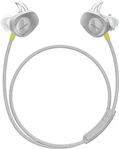 Bose SoundSport, Wireless Earbuds, (Sweatproof Bluetooth Headphones for Running and Sports), Citron