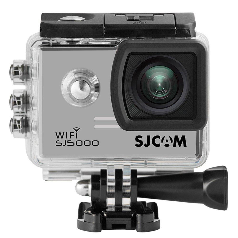 SJCAM SJ5000WiFi スポーツカメラ アクションカメラ フルHD 防水 2.0インチ液晶 ドライブレコーダー 日本語マニュアル シルバー B0783N5NCP シルバー シルバー