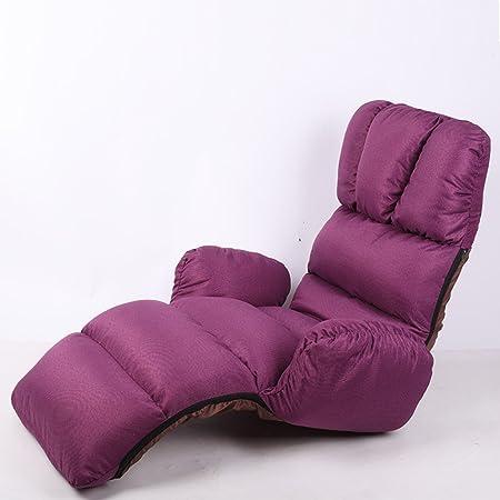Amazon.com: GJM Shop Sofá Lazy Sillón individual mini sofá ...