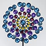 Bits and Pieces - Multi-Colored 183cm Metallic Wind Spinner - Windspinner Made of