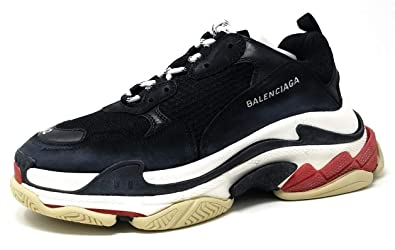 751176de8965c Balenciaga Triple S Trainers Mens Style  533882W0901-BLACK RED Size  42