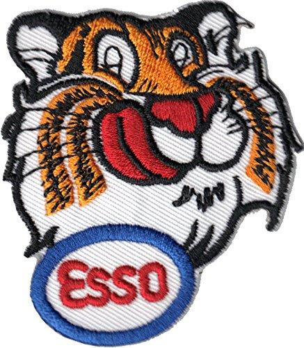 ESSO Tiger Kopf Tankstelle Gasoline Racing Nascar Aufnä her Aufbü gler Patch Abzeichen Patchking
